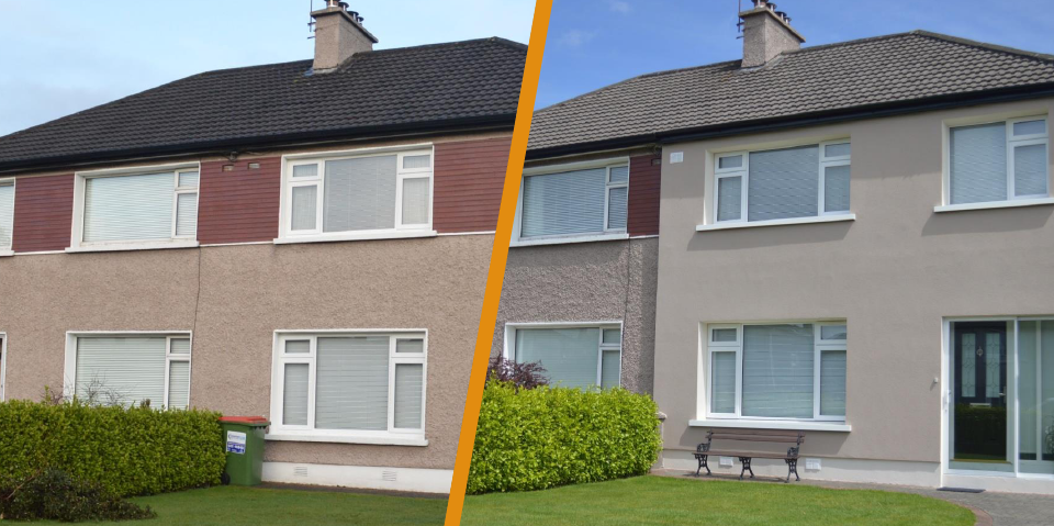 External wall insulation in ireland renovation specialists insulex - Cork insulation home ...